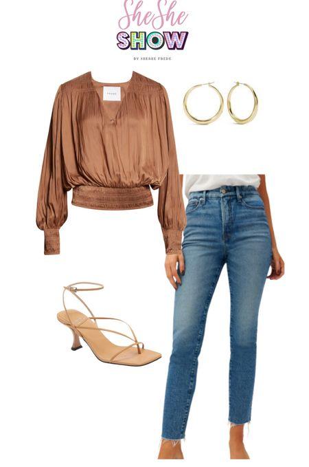 @nordstrom #nsale #tops #falltop #jeans #denim #sandals #strappysandal #nudesandal #kittenheel #nordstromanniversarysale   #LTKunder50 #LTKunder100 #LTKstyletip