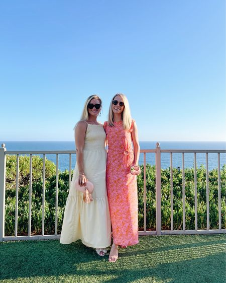 Summer wedding guest dresses making me smile! Both of these dresses are perfect for summer weddings as are our strappy sandals and statement earrings 💫 http://liketk.it/3hx1d @liketoknow.it #liketkit #LTKwedding #LTKstyletip #LTKshoecrush