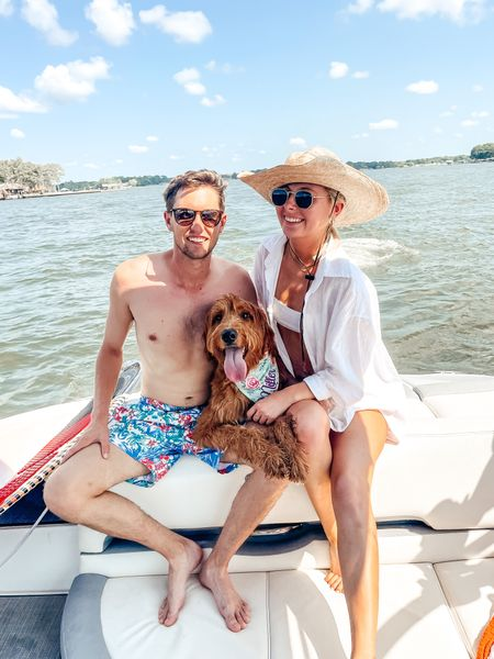 Last one for summer ☀️ spent the weekend with these cuties! Sis had her first boat ride and found her sea legs and we are already missing these sweet summer nights! 🤠 linked Pierce's swim in the LTK app. I'm not sure if I've shared with you he has this suit in a few colors and they are his fave! Under $20