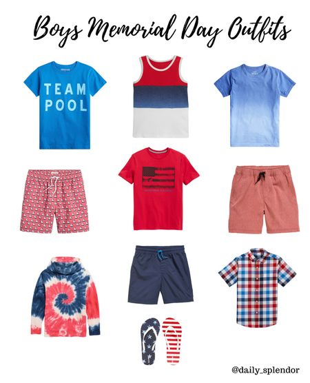 Red white and blue for boys! And great summer staples   #memorialday #fourthofjuly #july4   #LTKkids #LTKfamily #LTKSeasonal