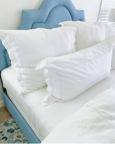 Our king bed for our primary bedroom is 20% off! We love it and it comes in other colors if you're not looking for blue! @liketoknow.it #liketkit http://liketk.it/3gkLo #LTKhome #LTKsalealert