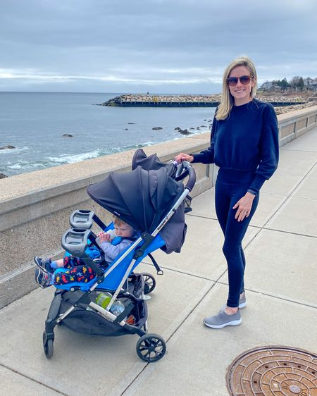 Saturday's on the sea wall! Love this cropped sweatshirt! Perfect for spring days like today. http://liketk.it/3cBL7 #liketkit @liketoknow.it #LTKfamily #LTKunder50 #LTKfit @liketoknow.it.family