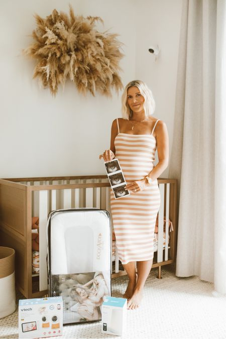 I may not have baby boys nursery completed yet, but at least I have my baby registry done at @target and checked off 3 of the items I used most for Capri! #target   #LTKbaby #LTKbump