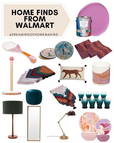 Home finds from walmart!!  Dreaming of Homemaking | #DreamingofHomemaking   #liketkit #LTKunder50 #LTKhome #LTKunder100