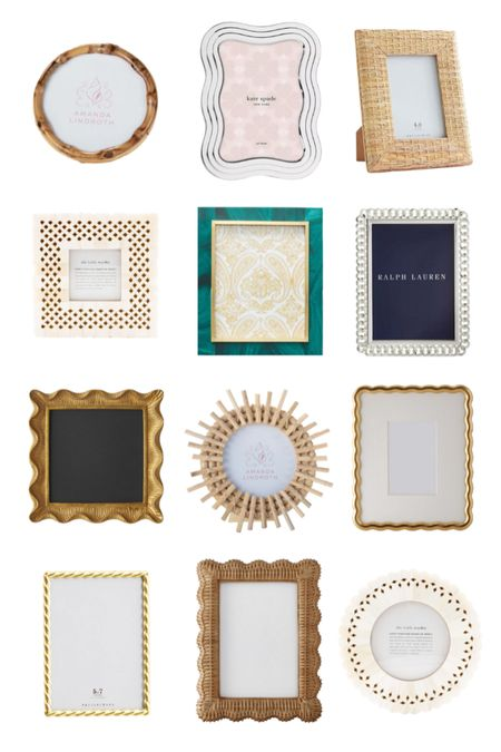 Some of my favorite picture frames! Explore more on KatieConsiders.com @liketoknow.it #liketkit http://liketk.it/3etQW