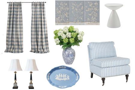 Sharing my picks to up you nail decorating a light blue room.   #LTKhome