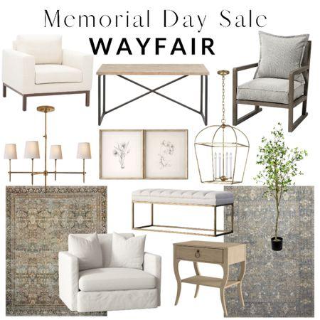 Memorial Day Sale! Wayfair, rug, bed, table, chair, home decor, bedroom, living room, entryway    #liketkit http://liketk.it/3gaMl @liketoknow.it #LTKsalealert #LTKhome #LTKfamily @liketoknow.it.home