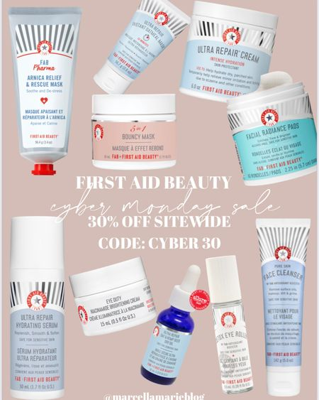First Aid Beauty Cyber Monday sale!! Everything is 30% off with code CYBER30 - linked my picks here! xx http://liketk.it/32Kdn #liketkit @liketoknow.it
