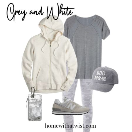 Grey and white - the class pair! http://liketk.it/3ncDt @liketoknow.it #liketkit #LTKSeasonal