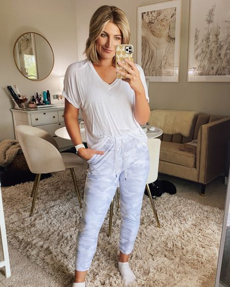 Walmart find #2 for today! These $25 athleisure crop joggers! So fun. Wearing a small and bought the white camo. Comes in other colors too! http://liketk.it/2Vesn @liketoknow.it #liketkit #LTKstyletip #LTKunder50 #StayHomeWithLTK