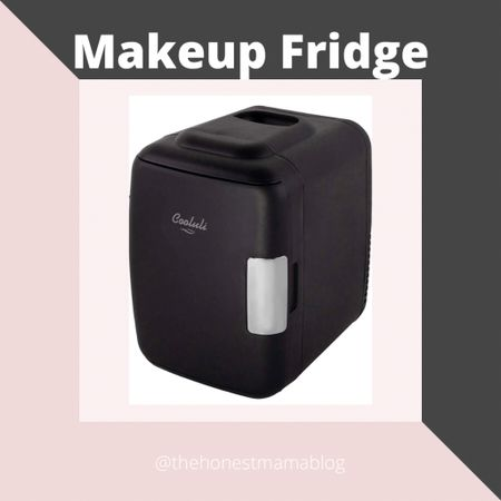 This mini fridge is perfect for storing makeup products in the bathroom! http://liketk.it/34BGU @liketoknow.it #liketkit