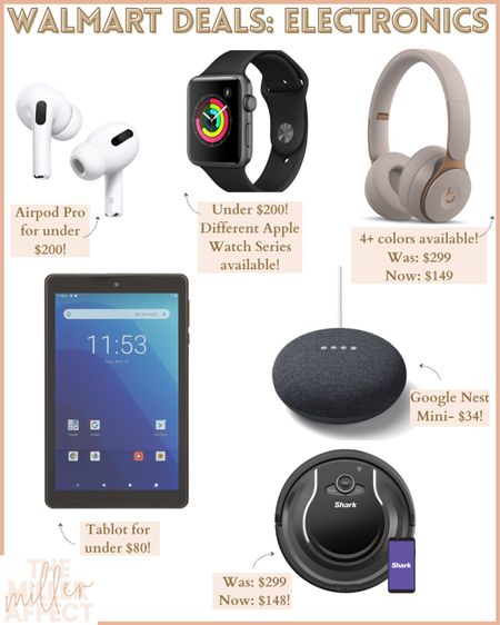 Now is the best time to purchase electronics! Walmart's Deals For Days sales event has so many amazing deals and savings on electronics. http://liketk.it/3i002 #liketkit @liketoknow.it #LTKsalealert #LTKunder100