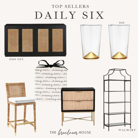 These are my best sellers from yesterday!  Counter stools, barstools, cups, glasses, Ballard, Restoration Hardware, pottery barn, cane cabinet, sale furniture, Serena and Lily, Walmart home, Walmart finds, Amazon home, Amazon Finds, target home, target finds, black furniture, BoHo, farmhouse, fall, Christmas  #LTKHoliday #LTKhome #LTKstyletip