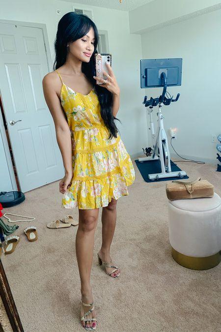 Yellow dress http://liketk.it/3hNjy #liketkit @liketoknow.it #LTKsalealert #LTKtravel #LTKunder50