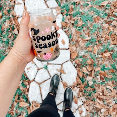 Getting in the spooky season with this adorable Halloween themed beer can glass! #etsyfinds #spookyseason #walmartstyle #walmartfinds #walmartdeals #icedcoffee #icedcoffeequeen  #LTKstyletip #LTKSeasonal #LTKHoliday