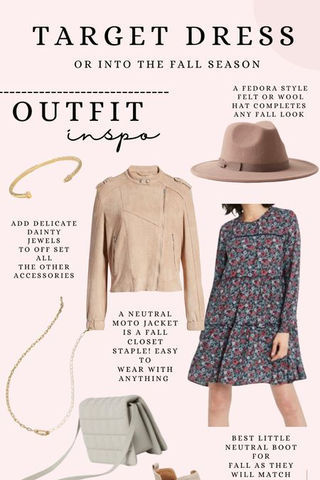 How to wear the $30 Target dress in the fall