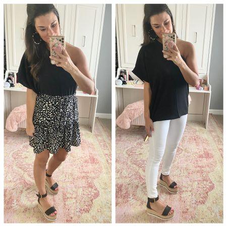 How to wear a black top http://liketk.it/39XIT #liketkit @liketoknow.it