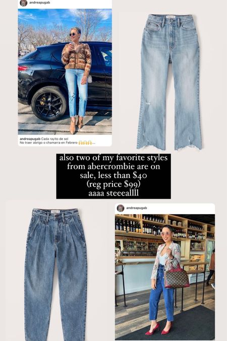 Abercrombie sale Abercrombie clearance Highrise jeans  http://liketk.it/3k5n7 #liketkit @liketoknow.it