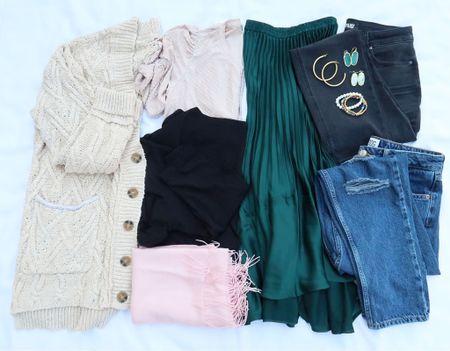 Casual fall capsule wardrobe ❤️ fall outfit ideas   #LTKstyletip #LTKunder100 #LTKSeasonal