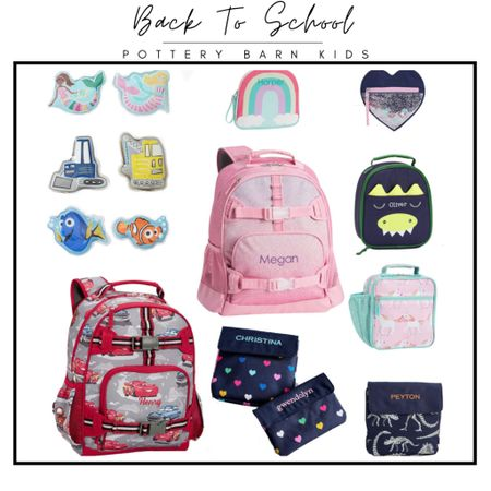 I can't believe it- but it is almost time!! Check out some amazing sales from Pottery Barn Kids!! #potterybarn #potterybarnkids #sale #backtoschool #backpack #lunchbox #schoolsupplies  #LTKunder50 #LTKfamily #LTKkids