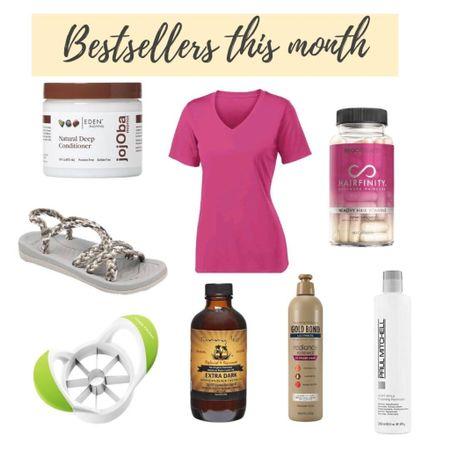 What was purchased in April on Amazon - Paul Mitchell, Gold Bond Radiance, Hairfinity, workout  gear, hiking sandals  http://liketk.it/3dUMw #liketkit @liketoknow.it   #LTKbeauty #LTKfit