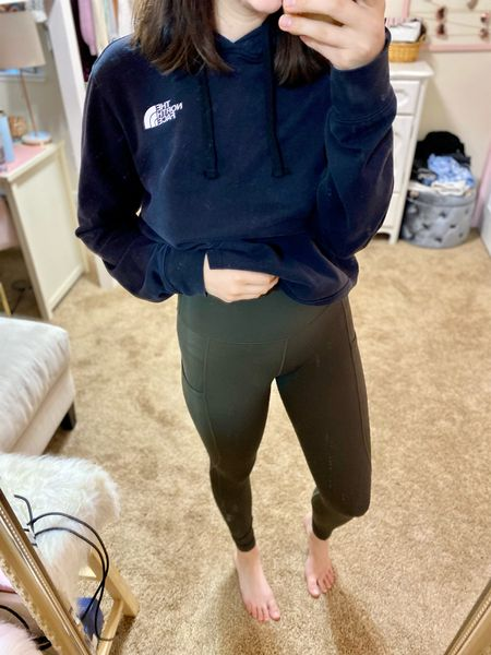 Love these amazon leggings! All true to size and both pieces come in tons of colors. #amazonfashion #leggings #outfitinspo    #LTKSeasonal #LTKstyletip #LTKunder50