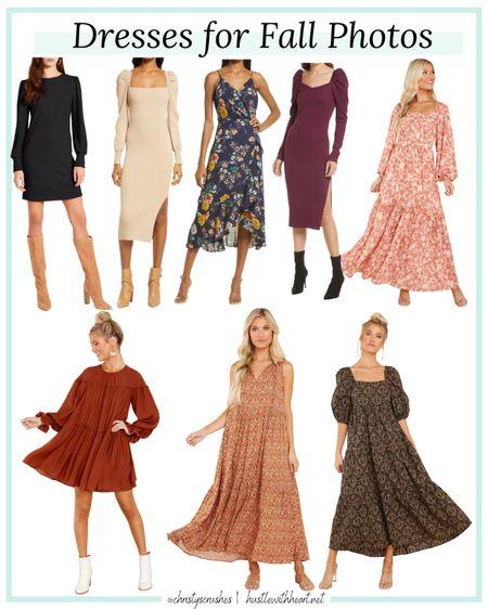 Fall dresses for fall photos   #LTKunder100 #LTKstyletip