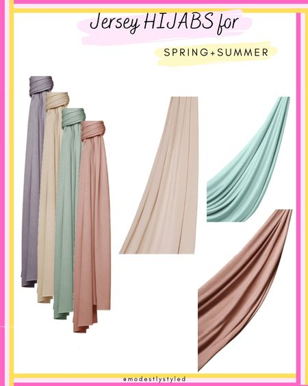 Throw on a jersey hijab for a quick and easy look. No pins needed just wrap and head out the door. These premium jersey hijabs from Haute Hijab are just the perfect addition for your spring/summer look. #hijab #hijabfashion #modest #hautehijab #hijabi #LTKstyletip #LTKunder50 http://liketk.it/3fEB2 @liketoknow.it #liketkit