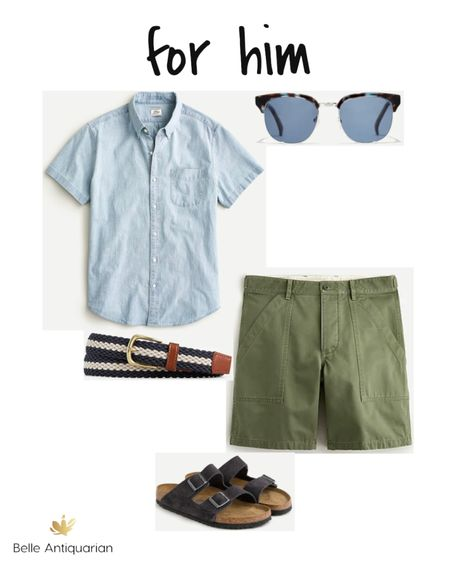 For him...summer ready style.  Follow me on LIKEtoKNOW.it for more deals and dupes! @BelleAntiquarian   #LTKfamily #LTKmens #LTKstyletip