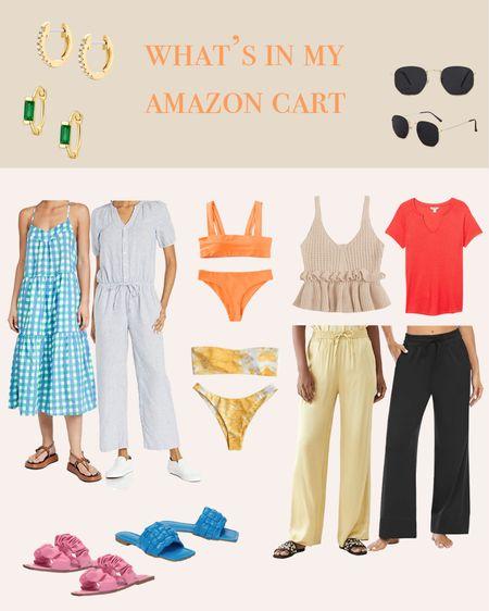 What's in my Amazon cart this week!!   #LTKswim #LTKstyletip