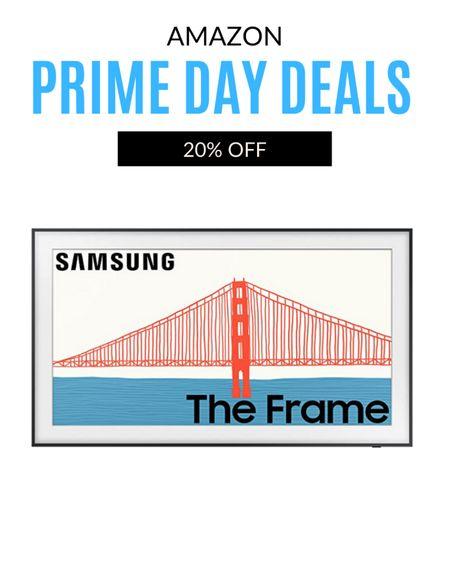 Amazon Prime Day is here and the Samsung Frame is 20 % off! http://liketk.it/3i6A5 #liketkit @liketoknow.it #LTKsalealert #LTKhome #LTKfamily