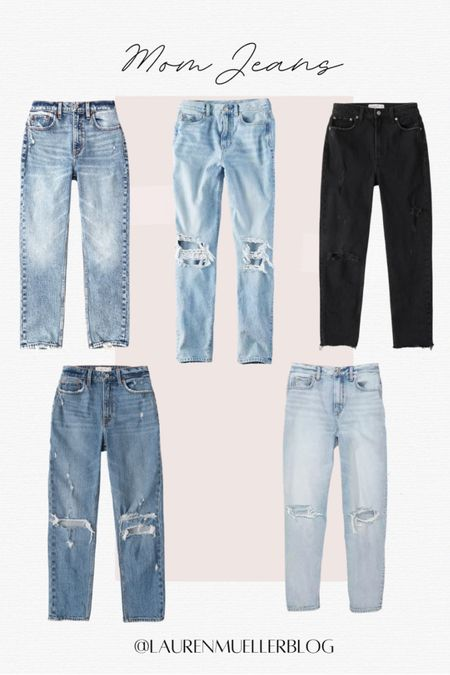 mom jeans // mom jeans on sale // high rise mom jeans // stretchy mom jeans   http://liketk.it/3an8q #liketkit @liketoknow.it