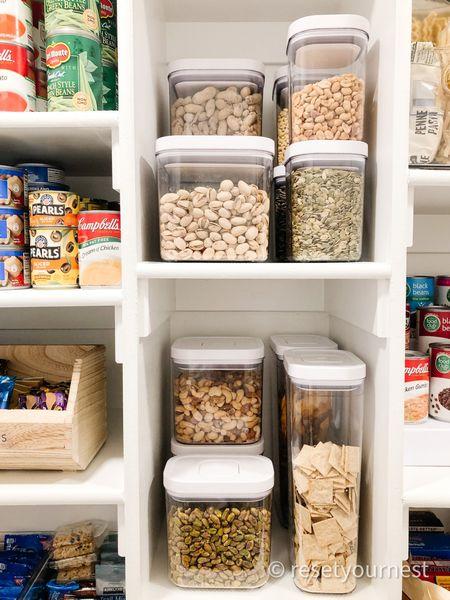 Shop this pantry look organized by Reset Your Nest! http://liketk.it/3jfvW @liketoknow.it #liketkit #LTKunder100 #LTKhome #LTKfamily #ltkkitchen #ltkorganized @liketoknow.it.home @liketoknow.it.family
