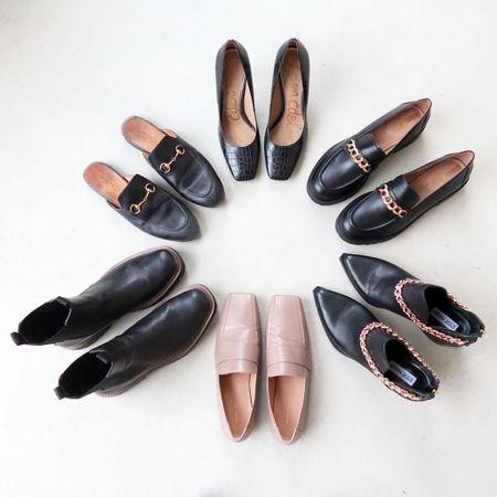 Fall shoe capsule ❤️ fall shoes and fall boots  #LTKshoecrush #LTKSeasonal