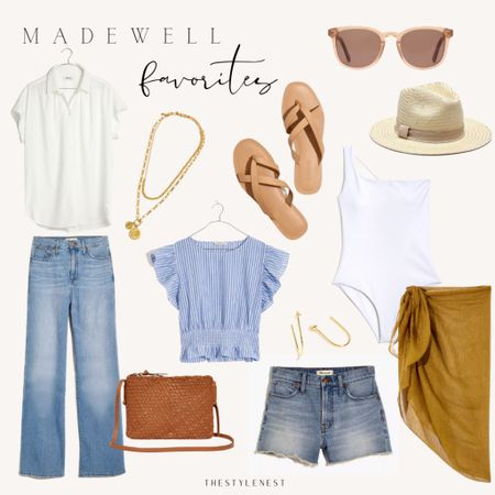 http://liketk.it/3eNpD Madewell Favorites #fashion #ltksalealert #summerfqshion #denim #ootd #summeroutfitideas #swim #neutralfashionideas #casualstyle #casual http://liketk.it/3eNp6 #liketkit @liketoknow.it #styletips