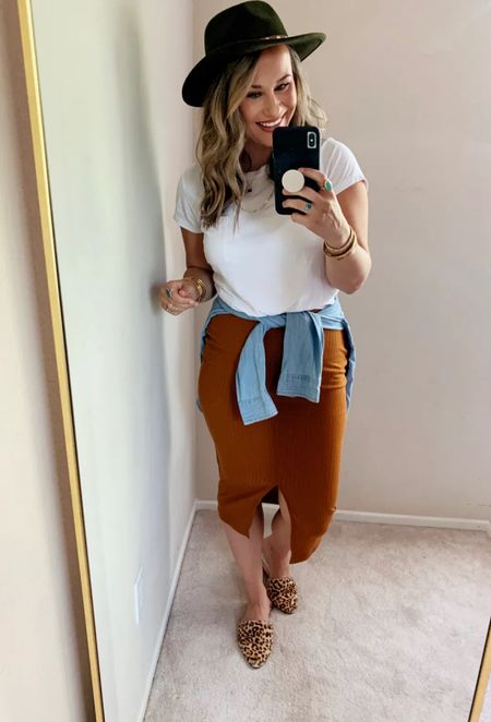 This skirt was a favorite in the fall! It's a prime deal today it's so cute! Also can be dressed to wear to work!   #LTKsalealert #LTKworkwear #LTKunder50