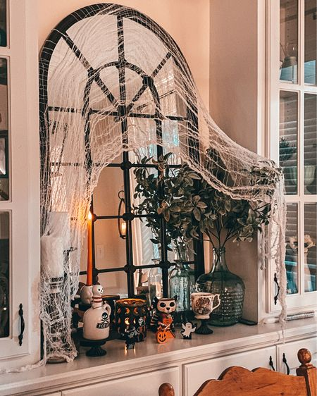 I love a spooky mirror and candles together!  #LTKSeasonal #LTKHoliday