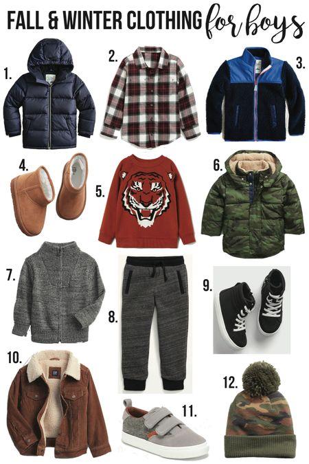 Fall & Winter Clothing for BOYS🥳//  #LTKunder50 #LTKunder100 #LTKkids