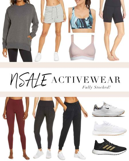 Some great activewear finds from the Nordstrom Anniversary Sale! Zella, Nike, Adidas and more. http://liketk.it/3kW9x #liketkit @liketoknow.it #LTKunder50 #LTKfit #LTKsalealert #nsale