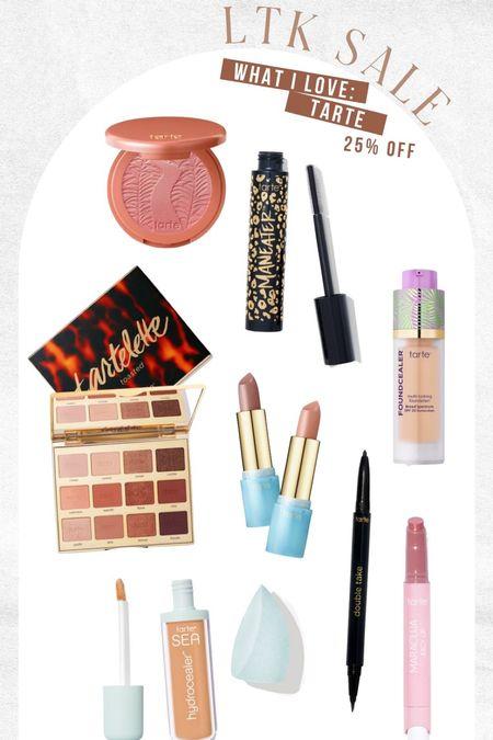 Tarte faves on sale! The juicy lip and blush are my favorite!!!   #LTKbeauty