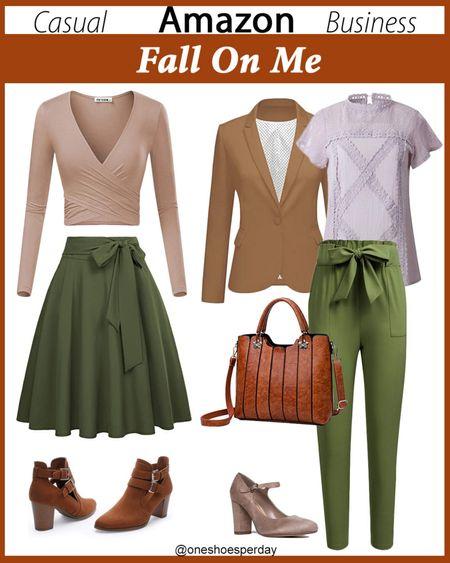Amazon Fashion  Fall Trends  Casual  Business Casual       http://liketk.it/3l8JJ @liketoknow.it #liketkit #LTKDay #LTKsalealert #LTKunder50 #LTKtravel #LTKworkwear #LTKshoecrush #LTKunder100 #LTKitbag #falloutfits #fall #falltrends #workwear #weartowork #boots