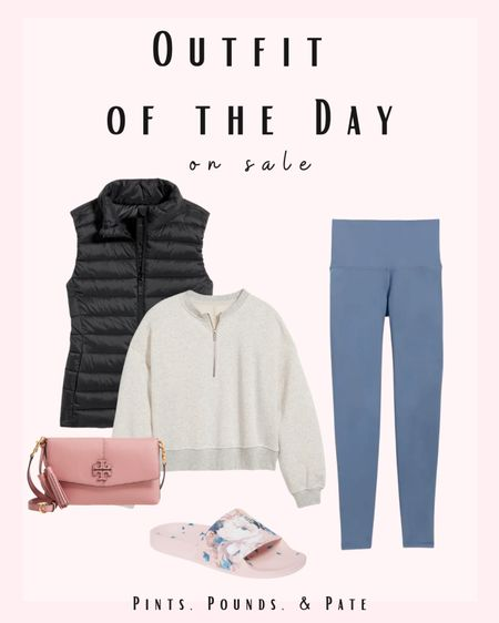 #athleisure outfit of the day, mostly from Old Navy!   #LTKstyletip #LTKSeasonal #LTKfit