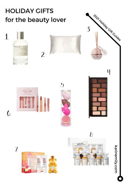 Holiday Gift Guide for the beauty lover   #LTKGiftGuide #LTKbeauty