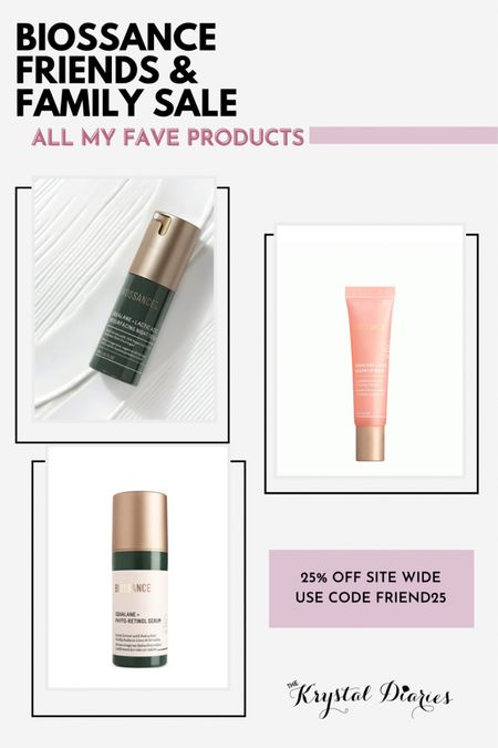 Biossance Friends & Family Sale. These are my favorite three products!    #LTKsalealert