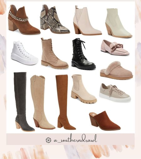 Fall boots and booties   #LTKSeasonal #LTKshoecrush