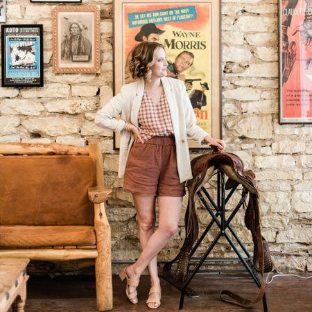 Linen outfit perfect for summer! http://liketk.it/3g1wK #liketkit @liketoknow.it #LTKtravel #LTKworkwear #LTKshoecrush