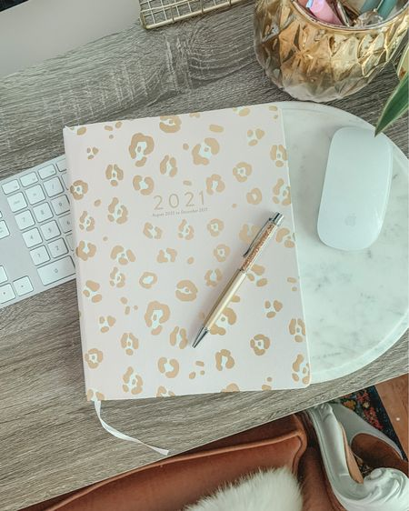 Leopard agenda and cute crystal pens! Back to school supplies 25% off! All under $25 with discount http://liketk.it/2V4ts #liketkit @liketoknow.it