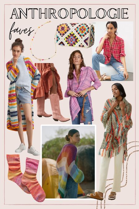 Fun colorful pieces for fall from Anthropologie   #LTKunder100 #LTKSeasonal