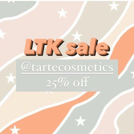 Tarte cosmetics sale http://liketk.it/3hlpr #liketkit @liketoknow.it #LTKbeauty #LTKsalealert #LTKunder50