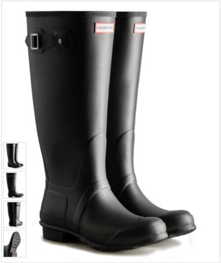Hunter rain boots on sale. These are the perfect item to add to your Christmas list.    #LTKsalealert #LTKGiftGuide #LTKshoecrush